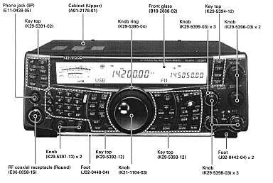 kenwood ts 2000 x transceiver ts2000x ts2000 x tx manual circuit rh shopingathome com kenwood ts-2000 manual service kenwood ts 2000 manuale italiano